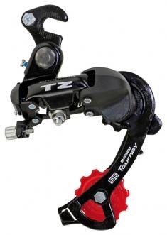 Переключатель задний Shimano Tourney RD-TZ50 с крюком