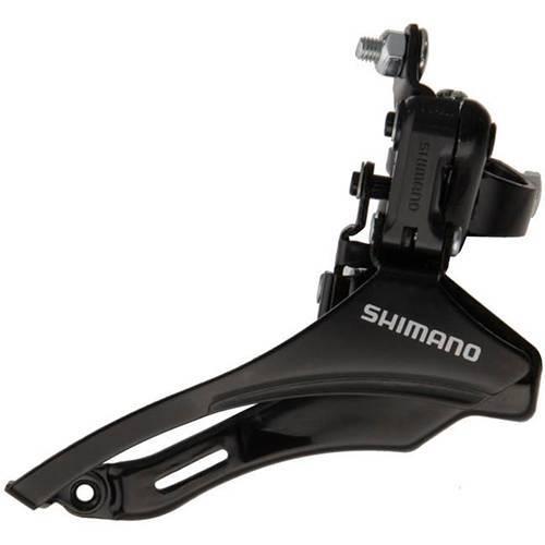 Переключатель передний SHIMANO TZ 30 верхняя/нижняя тяга